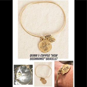 Quinn & Copper New Beginnings Bracelet NWT!